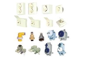 Ổ cắm, phích cắm, công tắc kín nước (Marine Nylon/CopperSocket, Plug & Switch)