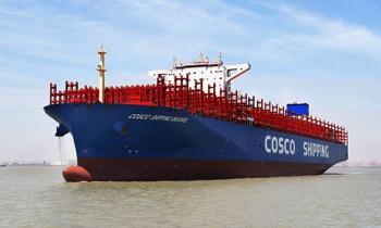 Trung Quốc xuất xưởng tàu container lớn nhất thế giới